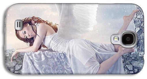 Mongolian Snow Angel Galaxy S4 Case